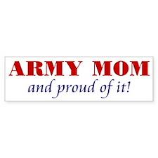 Army Mom Bumper Bumper Sticker