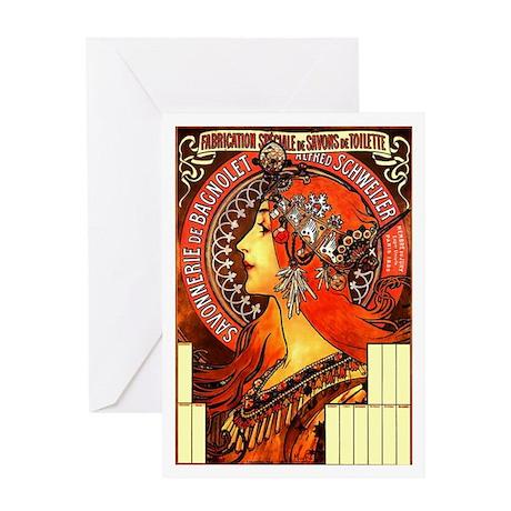 Savonnerie Greeting Card