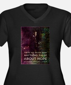 There has never been anything false about hope. Wo