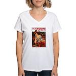 Perfecta Cycles Women's V-Neck T-Shirt