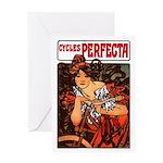 Perfecta Cycles Greeting Card