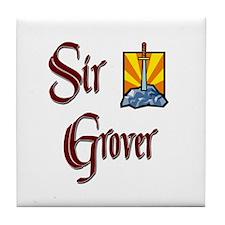 Sir Grover Tile Coaster