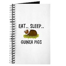 Eat ... Sleep ... GUINEA PIGS Journal