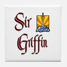 Sir Griffin Tile Coaster