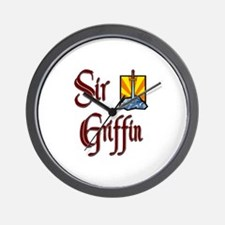 Sir Griffin Wall Clock