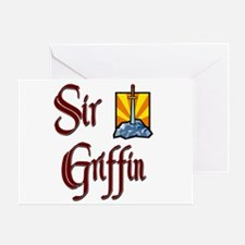 Sir Griffin Greeting Card