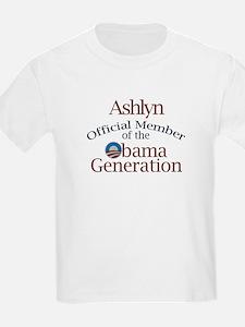 Ashlyn - Obama Generation T-Shirt