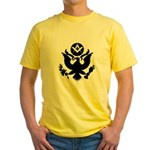 Masonic Eagle Crest Yellow T-Shirt