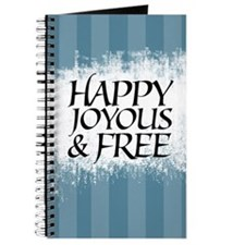 Happy Joyous & Free Journal