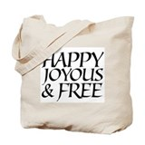 Alcoholics anonymous Regular Canvas Tote Bag