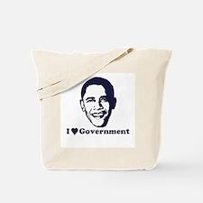 I Love Government Tote Bag