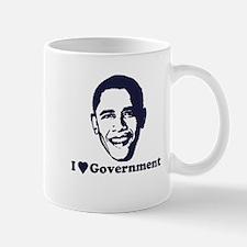 I Love Government Mug
