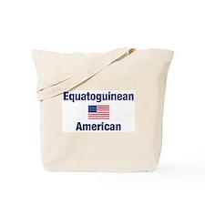 Equatoguinean American Tote Bag