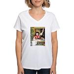Horniman's Pure Tea Women's V-Neck T-Shirt