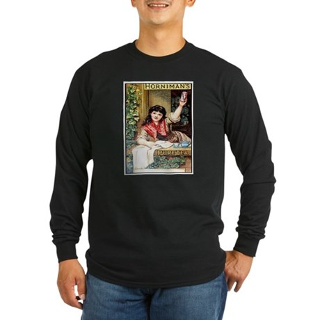 Horniman's Pure Tea Long Sleeve Dark T-Shirt