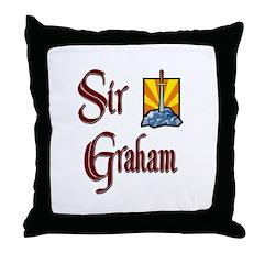 Sir Graham Throw Pillow