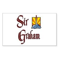 Sir Graham Rectangle Decal