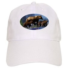 Mountain Grizzly Bears Baseball Cap