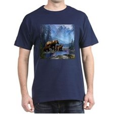 Mountain Grizzly Bears T-Shirt