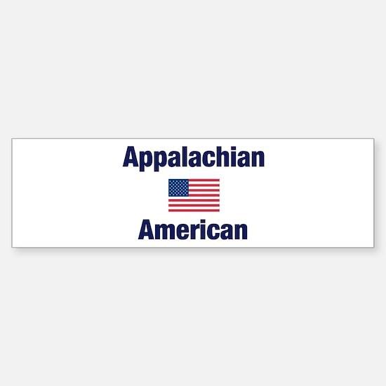 Appalachian American Bumper Bumper Bumper Sticker