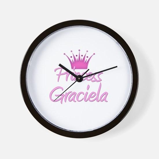 Princess Graciela Wall Clock
