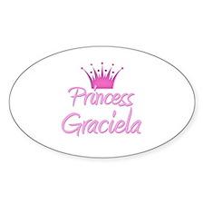Princess Graciela Oval Decal