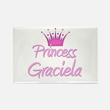 Princess Graciela Rectangle Magnet