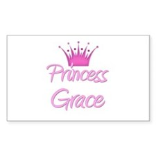 Princess Grace Rectangle Decal