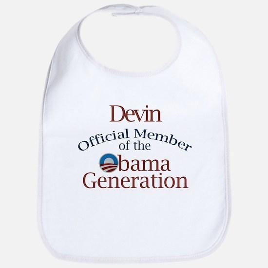Devin - Obama Generation Bib