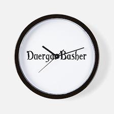 Duergar Basher Wall Clock