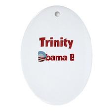 Trinity - Obama Baby Oval Ornament