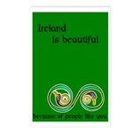 Ireland is beautiful... Postcards (Package of 8)