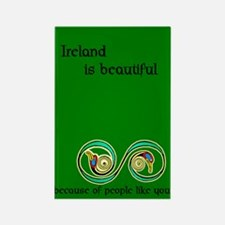 Ireland is beautiful... Rectangle Magnet