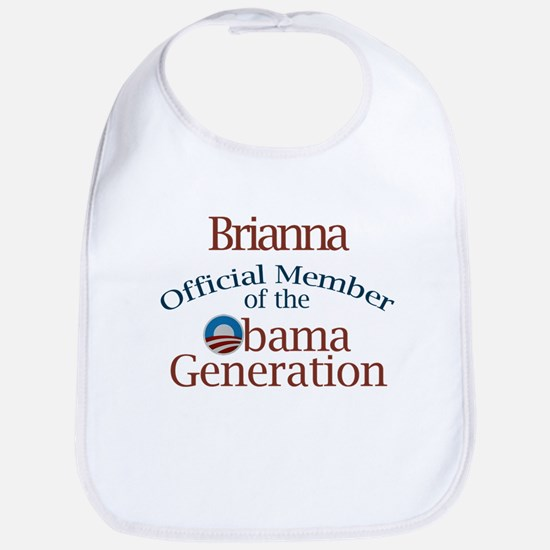 Briana - Obama Generation Bib