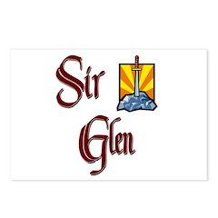 Sir Glen Postcards (Package of 8)