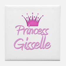 Princess Gisselle Tile Coaster