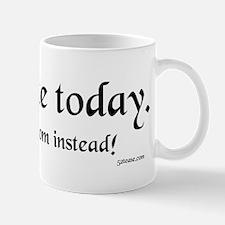 Dad on Strike Today Mug