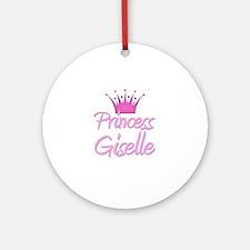 Princess Giselle Ornament (Round)