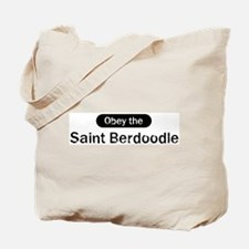 Obey the Saint Berdoodle Tote Bag