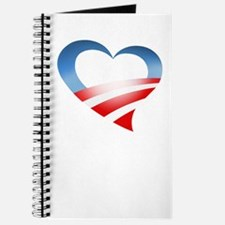 Obama Heart Logo Journal