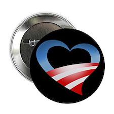 "Obama Heart Logo 2.25"" Button"