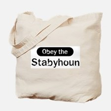 Obey the Stabyhoun Tote Bag