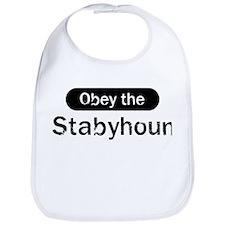 Obey the Stabyhoun Bib