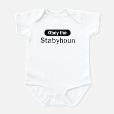 Obey the Stabyhoun Infant Bodysuit