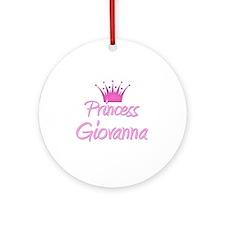 Princess Giovanna Ornament (Round)