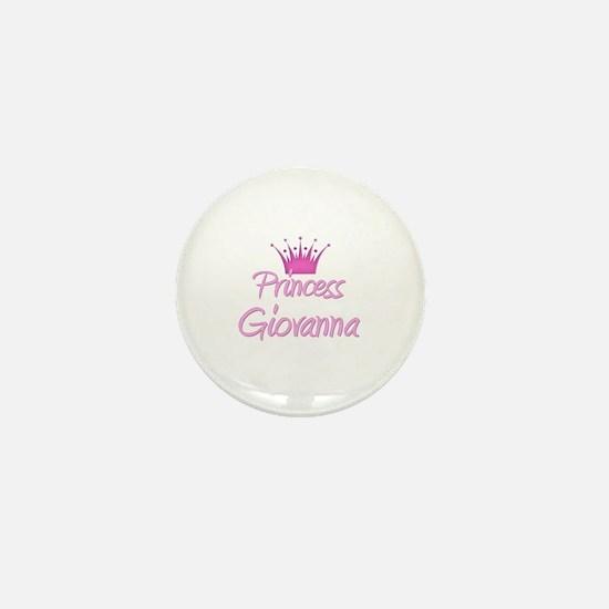 Princess Giovanna Mini Button