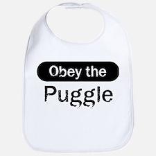 Obey the Puggle Bib