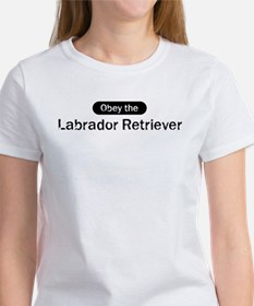 Obey the Labrador Retriever Tee