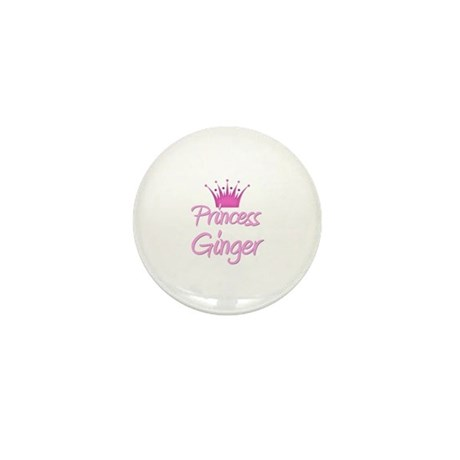 Princess Ginger Mini Button