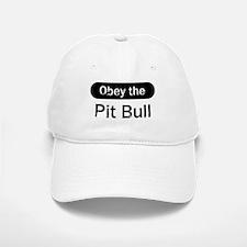 Obey the Pit Bull Baseball Baseball Cap